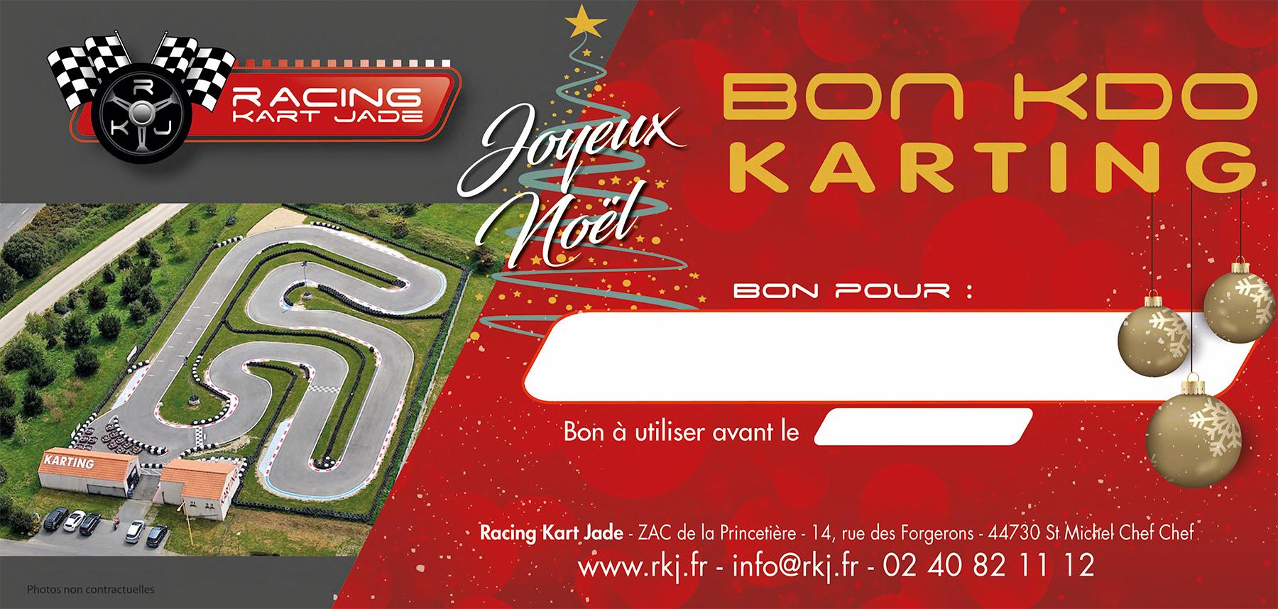 rkj cadeau exceptionnel pour no l offrez le bon cadeau karting pour petits et grands. Black Bedroom Furniture Sets. Home Design Ideas